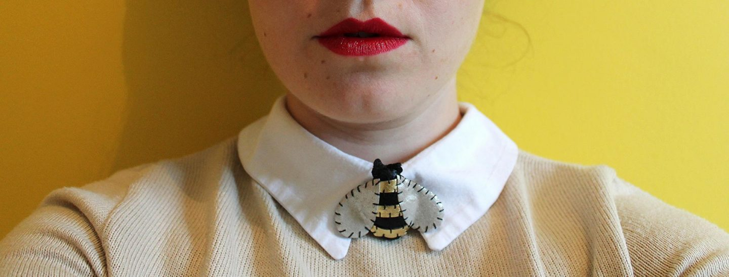 Love From Hetty & Dave  // Meant To Bee Bumble Bee Brooch